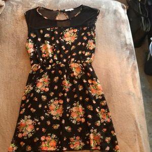 Sheer Floral Dress!